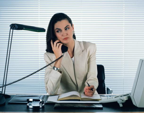 Девушка секретарь